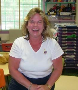 Pre-K Teacher and Nutritionist Joy Lanigan